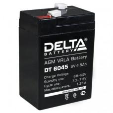 Аккумулятор  DELTA DT6045 6V 4.5Ah для прожекторов