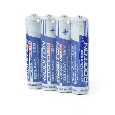 Батарейка  Robiton PLUS R03 (4/60/1200)