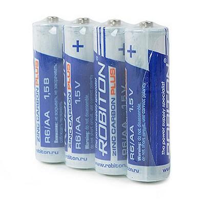 Батарейка  Robiton PLUS R06 (4/60/1200)