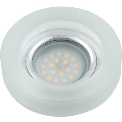 DLS-L110 стекло хром/прозр., с св.подс. 3Вт, GU5.3, UL- 00000361