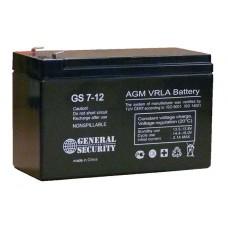 Аккумулятор  General Security GS 12V-7