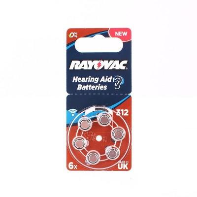 Батарейка  RAYOVAC ACOUSTIC SPECIAL 312 (G3) 6*BL для слух.аппар