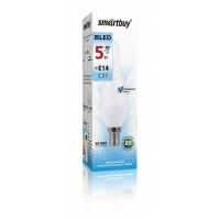 Лампа  Smartbuy Свеча на ветру СW37 LED (5W) 220V/4000К/Е14