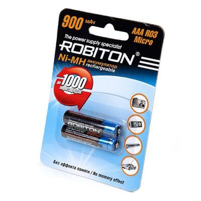 Аккумулятор Robiton R3  900 mAh 2*BL (2/50)
