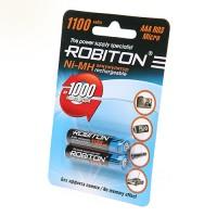 Аккумулятор Robiton R3 1100 mAh 2*BL (2/50)