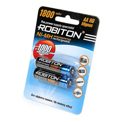 Аккумулятор Robiton R6 1800 mAh 2*BL (2/50)