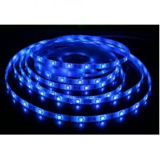 Лента светодиодная 60SMD (3528) 4,8W/m/12V, синий, 5м (цена за 1м)