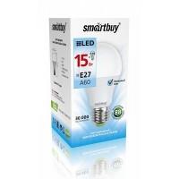 Лампа  Smartbuy A60 LED (15W) 220V/4000К/E27 (1/10)