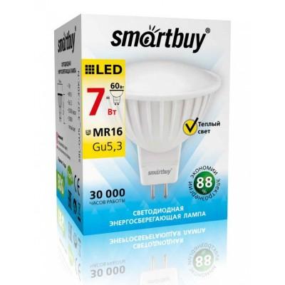 Лампа Smartbuy JCDR LED (7W) 220V/3000К/GU5.3