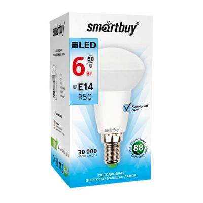 Лампа Smartbuy R50 LED (6W) 220V/4000К/Е14