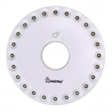Фонарь Smartbuy кемпинг НЛО 24LED, крепление магнит + карабин 1*BL, SBF-8253-W