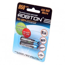 Аккумулятор Robiton R3  950 mAh 2*BL (2/50)