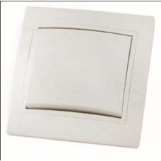 """Выключатель """"Таймыр"""" TDM СУ керамический, бел. 1 кл. 10А, SQ1814-0001 (1/10)"""