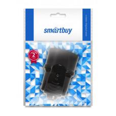 Гнездо штепсельное Smartbuy евро c/з, черное, SBE-16-S01-bz