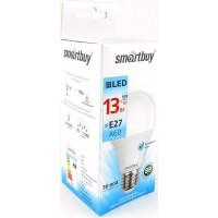 Лампа  Smartbuy A60 LED (13W) 220V/4000К/E27 (1/10)