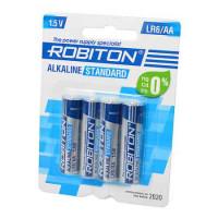 Батарейка Robiton  STANDARD LR06  4*BL (4/48/960)