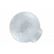 Рассеиватель к основанию Цветочек-стекло (прозрачный) ННС 62-010-А 85 (4/576)