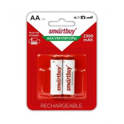 Аккумулятор Smartbuy R6 2300 mAh Ni-MH 2*BL (2/24)