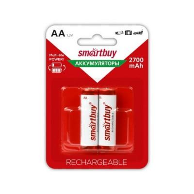 Аккумулятор Smartbuy R6 2700 mAh Ni-MH 2*BL (2/24)
