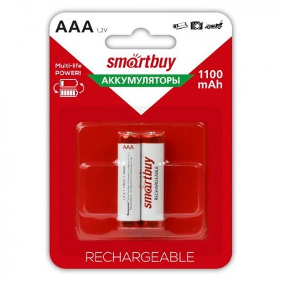 Аккумулятор Smartbuy R3 1100 mAh Ni-MH 2*BL (2/24)