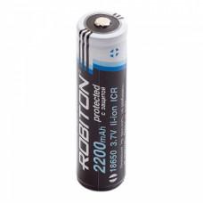 Аккумулятор  Robiton без защиты PK1 LI 2.2/18650 (7/5A 3.6v 2200mah)