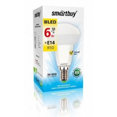 Лампа Smartbuy R50 LED (6W) 220V/3000К/Е14