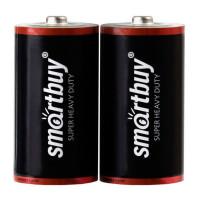 Батарейка Smartbuy  R14 (2/24/288), SBBZ-C02S
