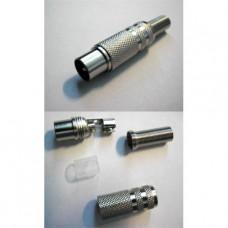 Штекер антенный PREMIUM T-2231, с пружиной, 255-123 (1/50)