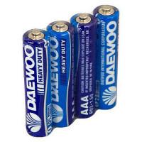 Батарейка Daewoo R03 (4/40/960)