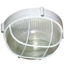 Светильник Элетех НПП 03-100-010 Банник 1102 IP65 круг с решеткой, белый