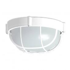 Светильник Элетех НПП 03-60-014 Банник 1302 IP65 круг с решеткой, белый