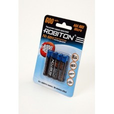 Аккумулятор Robiton R3  600 mAh 4*BL (2/50)