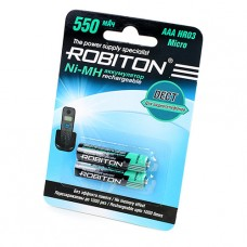 Аккумулятор Robiton R3  550 mAh DECT 2*BL (2/50)