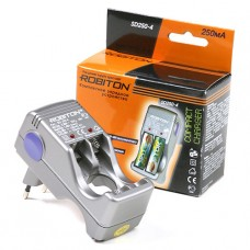 Зарядное устройство ROBITON SD 250-4 на 4 аккум.