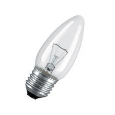 Лампа  Uniel Свеча 220V/60W/Е27, матовая (10/100)
