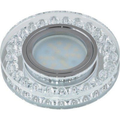 DLS-P102 стекло хром/прозрачный. GU5.3, 09984