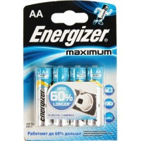 Батарейка ENERGIZER Maximum LR6 4*BL (96)