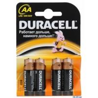 Батарейка Duracell LR06 (MN1500)  4*BL (4/80/240)