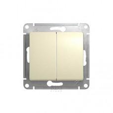 Выключатель Schneider Electric GLOSSA GSL000211 сх.1а, СУ 1кл.,.беж, (10/180)