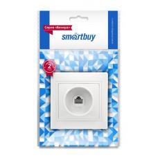 """Розетка  Smartbuy """"Венера"""" СУ телефон, 1 мест, белая, SBE-01W-S1-PH (1/10)"""