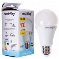 Лампа Smartbuy ЛОН A60 LED  (13W) 220V/3000К/E27
