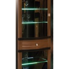 Подсветка стеклополок    6 полок (300мм)