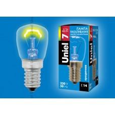Лампа Uniel IL F25 CL/7W/E14 для ночника (1/10/100)