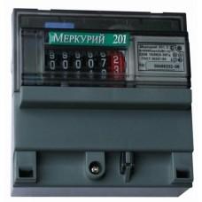 "Электросчетчик ""Меркурий 201.5"" 5-60А, ОУ, Дин-рейка"