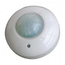 Датчик движения потолочный HOROZ, 1000W, 2-8м, 360градусов, белый, HL480