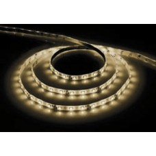 Лента светодиодная 60SMD (2835) 4,8W/m/12V/WW, теплый белый, 5м (цена за 1м)