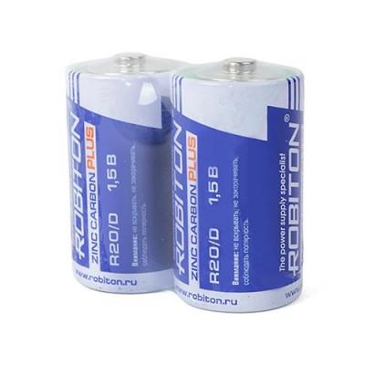 Батарейка  Robiton PLUS R20 (2/12/288)