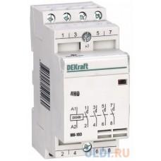 Контактор модульный 2НО+2Н3 20А 230В МК-103 DEKraft SC18062DEK