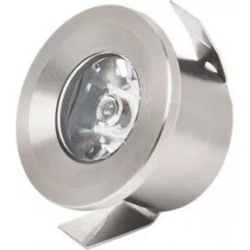 Светильник светодиод. встраиваемый  1W 2700K,HL665L хром