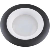 DLS-V107 металл, цвет черно-белый, литой без лампы GU5.3, UL - 00000350